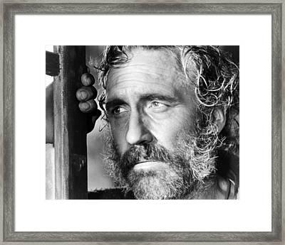 Jason Robards In C'era Una Volta Il West  Framed Print by Silver Screen