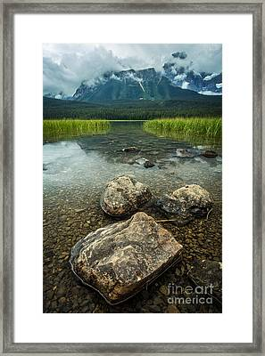 Jasper National Park Framed Print by Edward Fielding