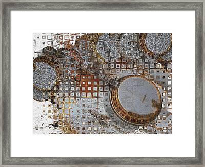 Jazz Banjo Framed Print by Jack Zulli