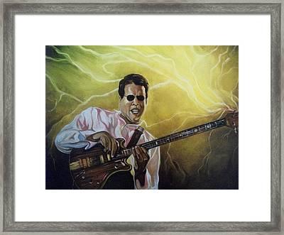 Jazz Framed Print by Emery Franklin