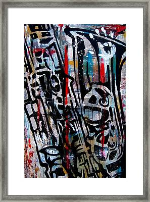 Jazz Hands By Fidostudio Framed Print by Tom Fedro - Fidostudio