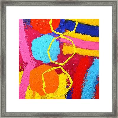 Jazz Process IIi Framed Print by John  Nolan