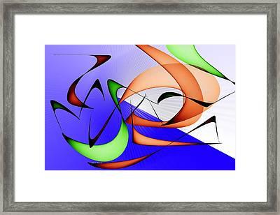 Jazz Framed Print by Rick Thiemke