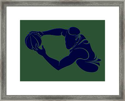 Jazz Shadow Player2 Framed Print by Joe Hamilton