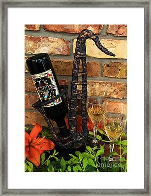Jazzing Up The Big Easy Framed Print by Karry Degruise