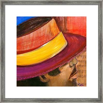 Jazzman Framed Print by Debi Starr