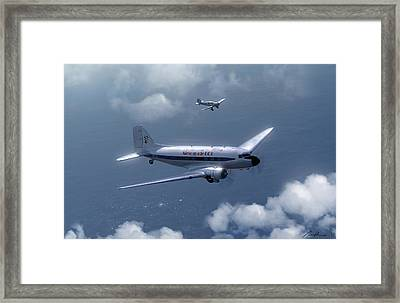 Jean Kate And Amy Framed Print by Hangar B Productions