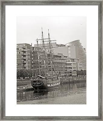 Jeanie Johnston Dublin Ireland Framed Print by Betsy C Knapp