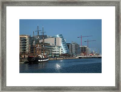 Jeanie Johnston Reconstructed Famine Framed Print by Panoramic Images