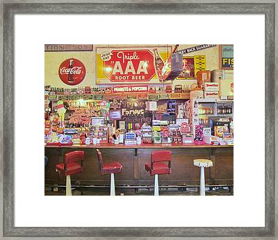 Jefferson Texas General Store Framed Print by Donna Wilson