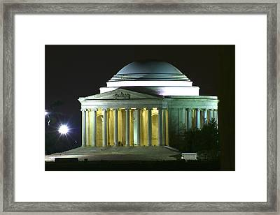 Jefferson Memorial Framed Print by Andrew Johnson
