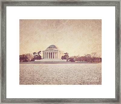 Jefferson Memorial  Framed Print by Emily Kay