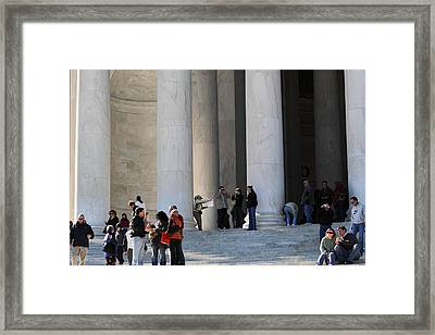Jefferson Memorial - Washington Dc - 01132 Framed Print by DC Photographer