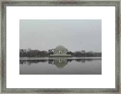 Jefferson Memorial - Washington Dc - 01136 Framed Print by DC Photographer