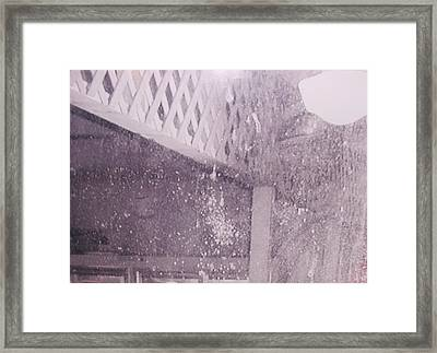Jefferson Texas Ghost Eyes Framed Print by Donna Wilson