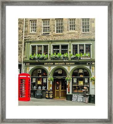 Jekyll And Hyde Framed Print by James Canning