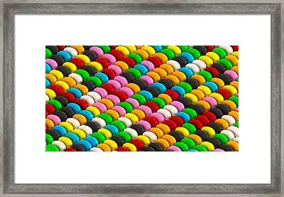 Jelly Bean Joy Framed Print by Allan Swart