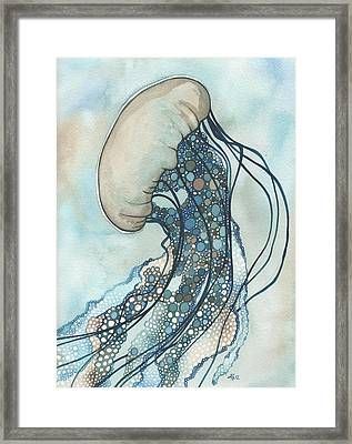 Jellyfish Two Framed Print by Tamara Phillips