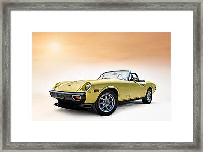 Jensen Healey Framed Print by Douglas Pittman