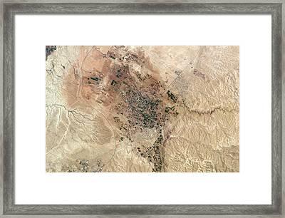 Jericho Framed Print by Nasa