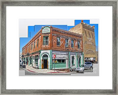 Jerome Arizona - Hotel Conner - 01 Framed Print by Gregory Dyer