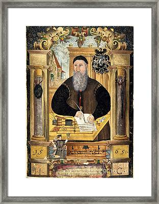 Jerome Coeler The Elder, German Judge Framed Print by British Library