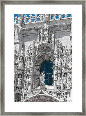 Jeronimos Monastry Church Lisbon Framed Print by Paul Donohoe