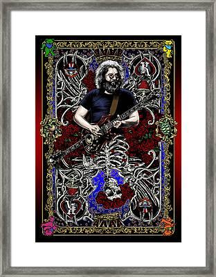 Jerry Card Framed Print by Gary Kroman