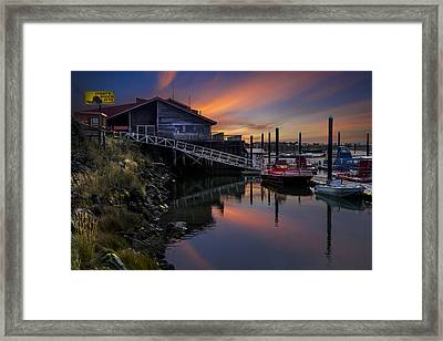 Jerry's Rogue Jets Framed Print by Debra and Dave Vanderlaan