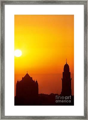 Jerusalem Sunrise Framed Print by Thomas R Fletcher