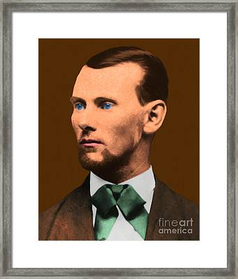 Jesse James 20130515 Framed Print by Wingsdomain Art and Photography