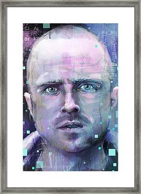Jessie Framed Print by Jeremy Scott