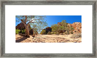 Jessies Gap Framed Print by Bill  Robinson