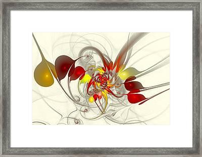 Jester Framed Print by Anastasiya Malakhova