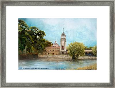 Jesuit Block And Estancias Of Cordoba Framed Print by Catf