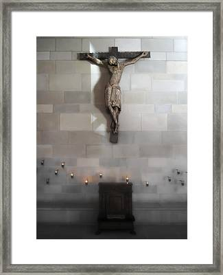 Jesus Chapel Icon - San Francisco Framed Print by Daniel Hagerman