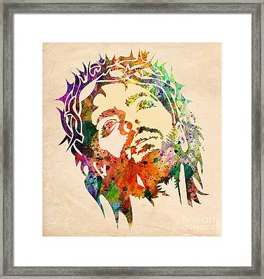 Jesus Christ 3 Framed Print by Mark Ashkenazi