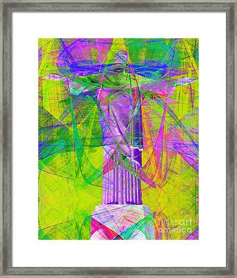 Jesus Christ Superstar 20130617p32 Framed Print by Wingsdomain Art and Photography