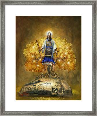 Jesus Christ The Great High Priest Framed Print by Jeff Brimley