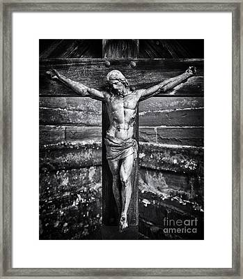 Jesus Christ  Framed Print by Tim Gainey