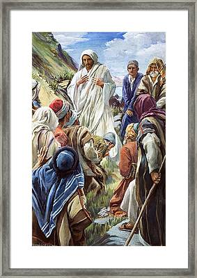 Jesus Framed Print by Harold Copping