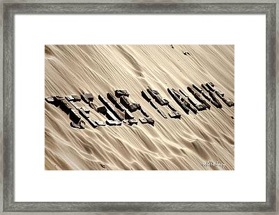 Jesus Is Alive Framed Print by Robert Lacy