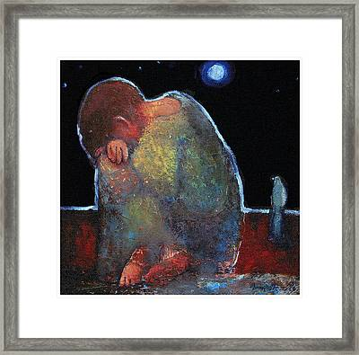 Jesus The Boy Framed Print by Daniel Bonnell