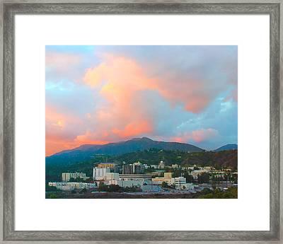 Jet Propulsion Laboratory Nasa - Pasadena California Framed Print by Ram Vasudev