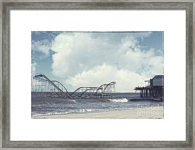 Jet Star Framed Print by Amanda Stevens