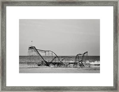 Jet Star  Framed Print by Terry DeLuco