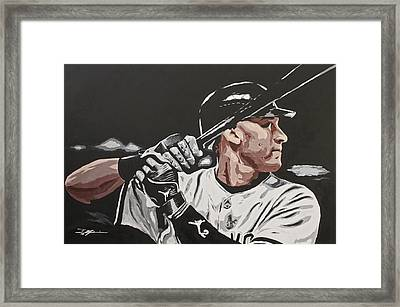 Jeter  Framed Print by Don Medina