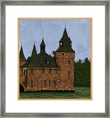 Jethro's Castle Framed Print by Meg Shearer