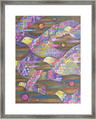 Jetstream Framed Print by Sarah Porter