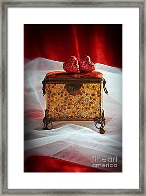 Jewel Casket Framed Print by Amanda Elwell